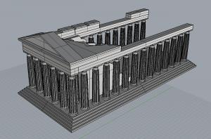 Parthenon Perspective A
