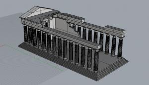 Parthenon Perspective B