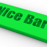 Bar with Engraved Text 1